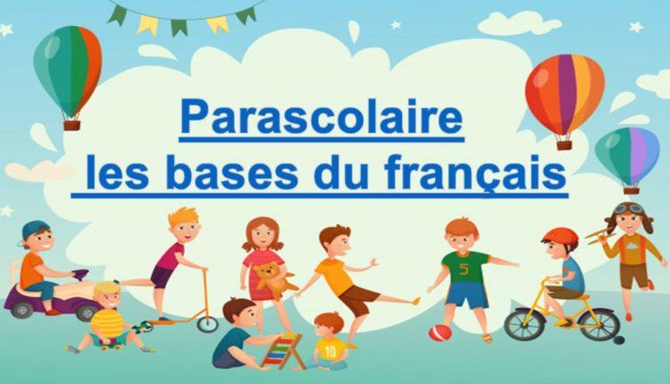 parascolaire les bases du français